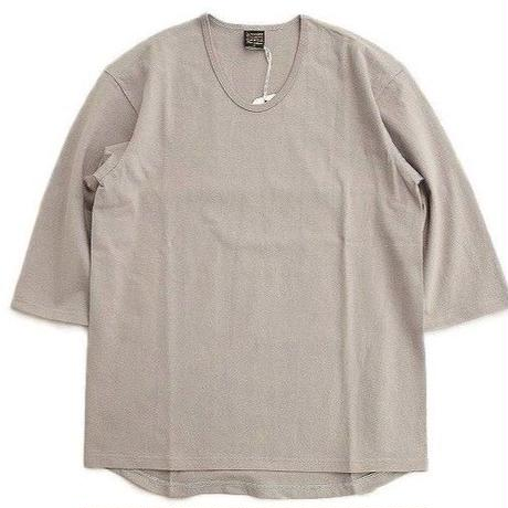 *A VONTADE(アボンタージ)   3/4 Sleeve U-Neck T-Shirts  SILVERGRAY