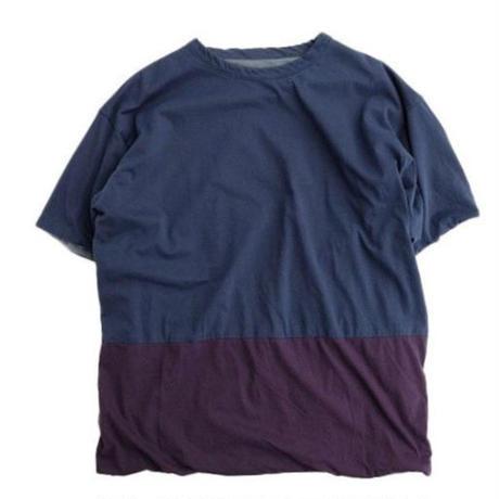 nisica(ニシカ)   リバーシブルTシャツ   NAVY