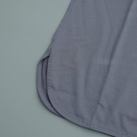 CURLY(カーリー)   SDH H/S CN TEE  STEEL BLUE
