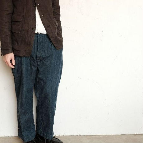 *A VONTADE(アボンタージ)   Oid Potter Jacket 40/- Linen Herringbone