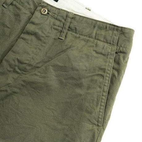 *A VONTADE(アボンター)   Type 45 Chino Trousers -Wide Fit -   OLIVE