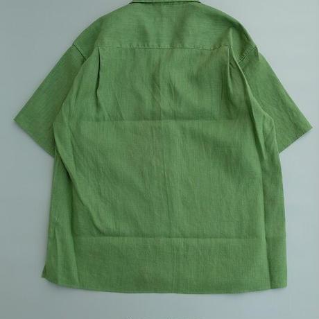 loomer(ルーマー)   Botanical Dye Linen Shirt  Kale