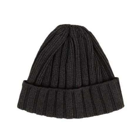 Weac.(ウィーク)   PAPER SUMMER KNIT CAP   BLACK