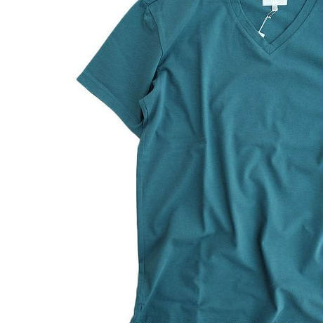 CYRLY(カーリー)   ABN SS V NECK TEE  GREEN
