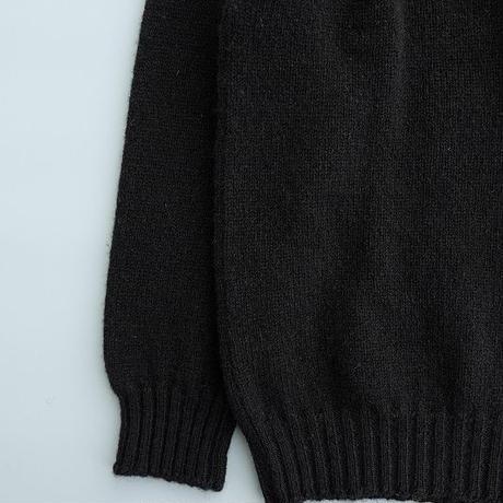 Jamieson's (ジャミーソンズ)  シェットランドセーター  BLACK