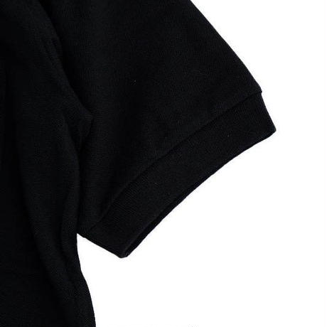 *A VONTADE(アボンタージ)  Lax polo S/S  BLACK