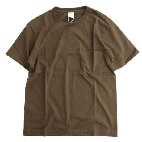 *A VONTADE(アボンタージ)  7.5oz Tube Pocket S/S T-Shirts  CHOCOLATE