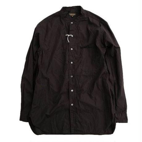*A VONTADE(アボンタージ)   Banded Collar Shirts  BLACK