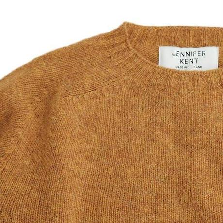 JENNIFER KENT(ジェニファーケント)   シェットランドセーター  MUSTARD
