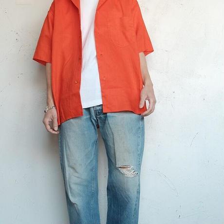 loomer(ルーマー)   Botanical Dye Linen Shirt  Acerola