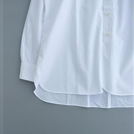 ohh!nisica(オオニシカ)   スタンドカラーシャツ   white