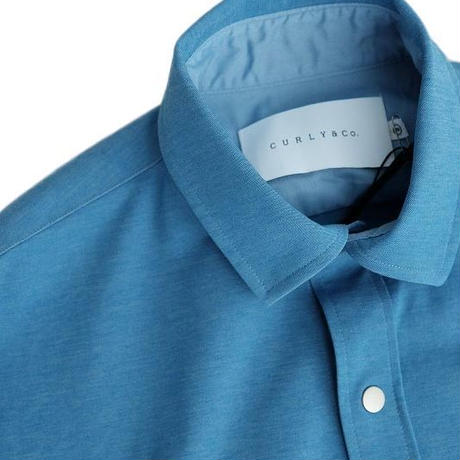 CURLY(カーリー)   BLEECKER RC SHIRTS   BLUE