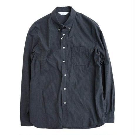 STILLBYHAND(スティルバイハンド)   ボタンダウンシャツ  NAVYCHECK