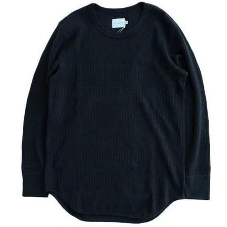 CURLY(カーリー)   SWITCHING LS TEE   BLACK