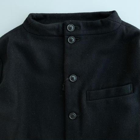 nisica(ニシカ) ガンジージャケット   BLACK