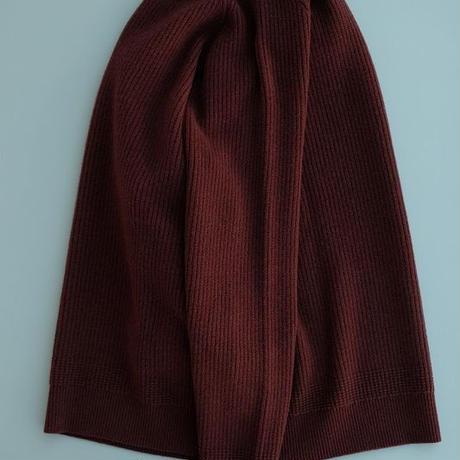 DELICIOUS(デリシャス)   Lamb Wool Knit  BORDEAUX