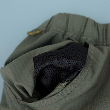 DELICIOUS(デリシャス)   ALL Round Cargo Shorts  khaki