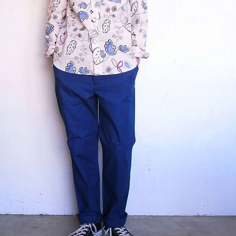 ORDINARY FITS(オーディナリーフィッツ)    INVISIBLE B/D SHIRT flower
