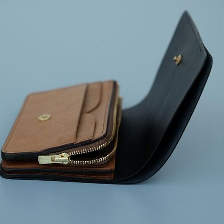 forme(フォルメ)   flp-26 Short Wallet  babycalf×SHF
