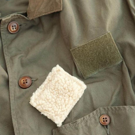 another20thcentury(アナザートゥエンティースセンチュリー)  River Runs Jacket PLAY   olive drab