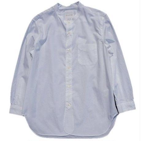 STILL BY HAND(スティルバイハンド)   バンドカラーシャツ  WHITE