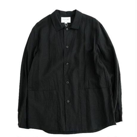 STILLBYHAND(スティルバイハンド)  無双仕立てシャツジャケット   BLACK