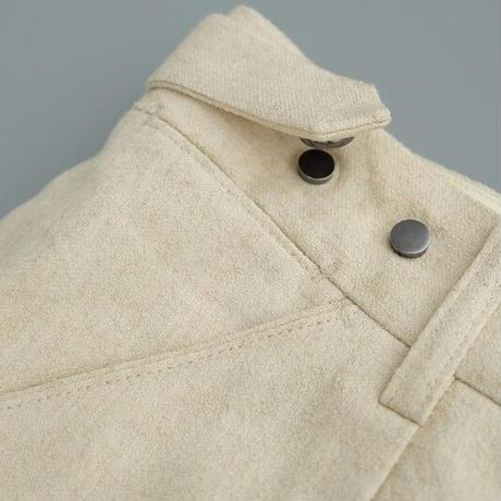 tilt The authentics(チルトザオーセンティックス)   Semi Wide 6 Pocket Trousers   Ecru