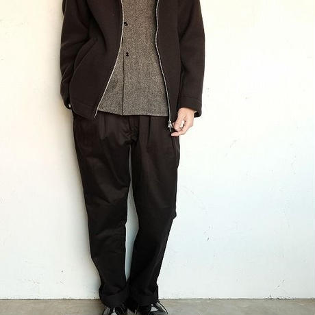 LAMOND(ラモンド)   GEELONG LAMB WOOL WRAP AROUND PARKA