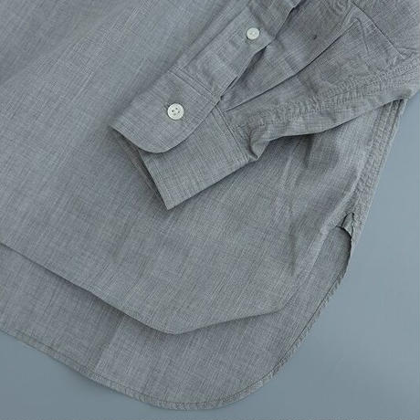 ohh!nisica(オオニシカ)   スタンドカラーシャツ   gray