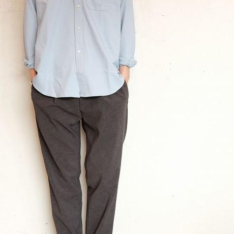 CURLY(カーリー)  BLEECKER B.D. SHIRTS   LT.BLUE