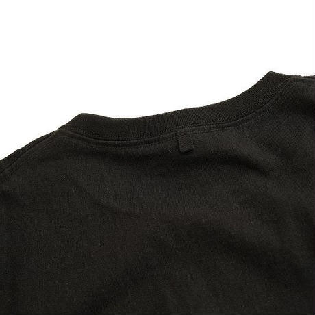 *A VONTADE(アボンタージ)  7.5oz Tube Pocket S/S T-Shirts  BLACK