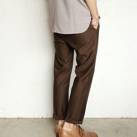 CURLY(カーリー)   BRIGHT EZ TROUSERS   WARBLER BROWN