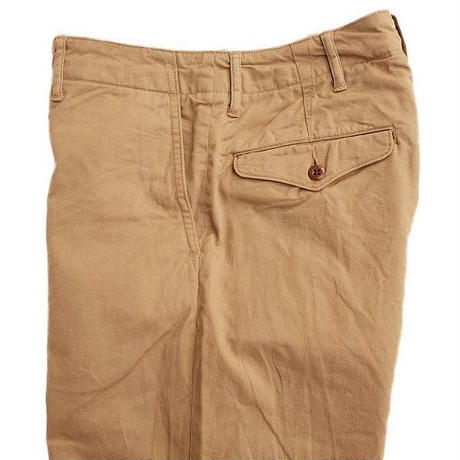 *A VONTADE(アボンター)   Type 45 Chino Trousers -Wide Fit -   BEIGE