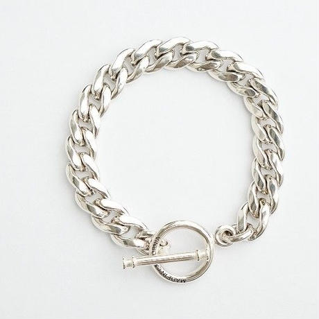 MADE IN CALIFORNIA(メイドインカリフォルニア)   T-BAR CHAIN BRACELET (L)