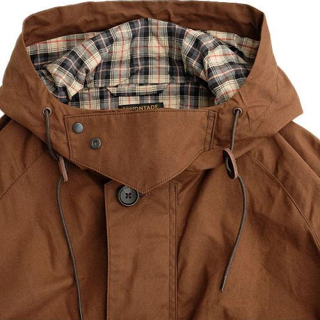 *A VONTADE(アボンタージ)   British Fleld Hooded Jacket  BROWN
