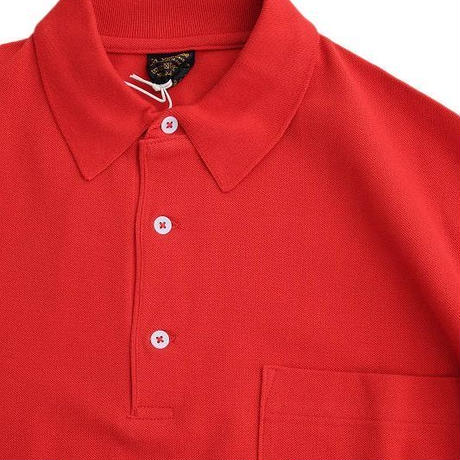 *A VONTADE(アボンタージ)  Lax polo S/S  RED