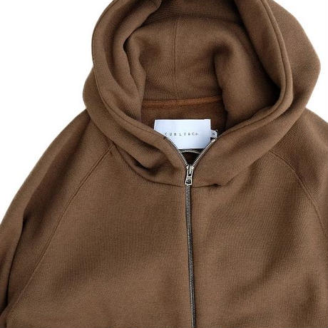 CURLY(カーリー)   PRESTON ZIP PARKA  OLIVEBROWN