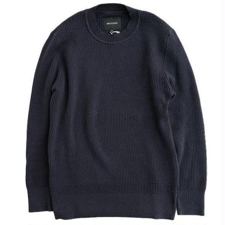 DELICIOUS(デリシャス)   Cotton Sweater   NAVY