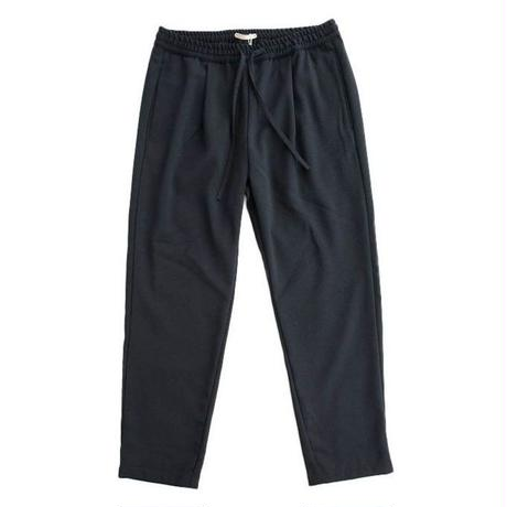 LAMOND(ラモンド)   KASHIDOSU WOOL TAPERED PANTS   NAVY