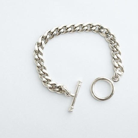 MADE IN CALIFORNIA(メイドインカリフォルニア)   T-BAR CHAIN BRACELET (M)