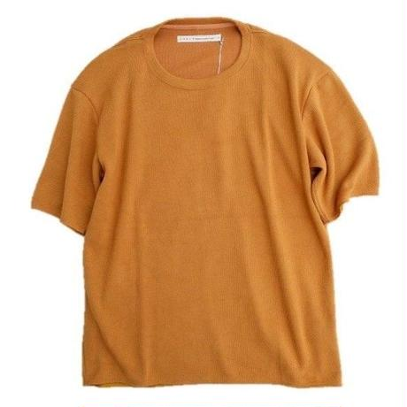 CURLY(カーリー)   CLOUDY HS CREW TEE    CAMEL