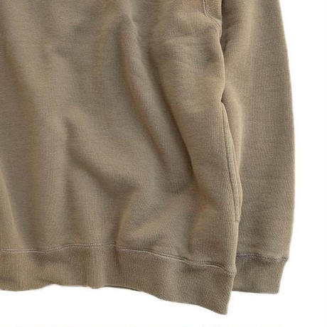 CURLY(カーリー)    FROSTED CREW SWEAT   GREGE