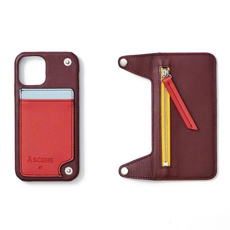 Crazy color leather case
