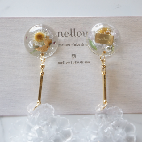 mellow // noa  goldピアス