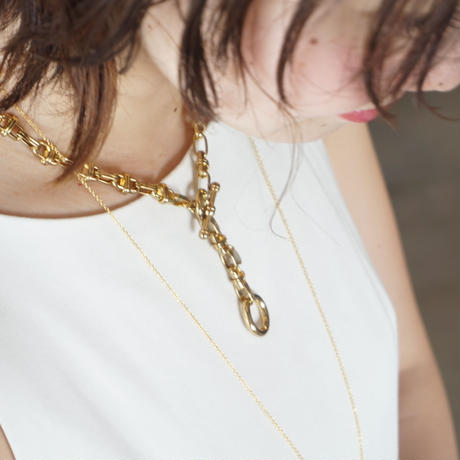 in mood // H Chain ネックレス gold