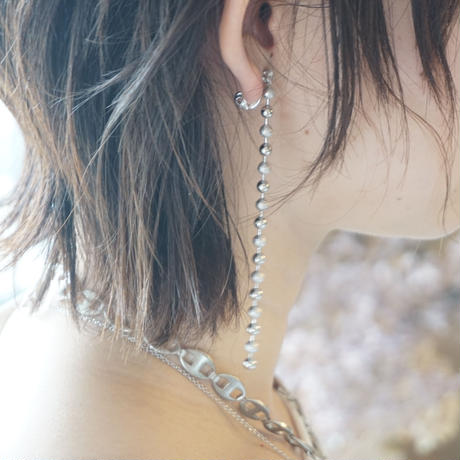 in mood // BALL CHAIN イヤリング gold