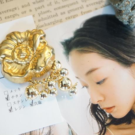 iB // flower sparkling ピアス&イヤリング
