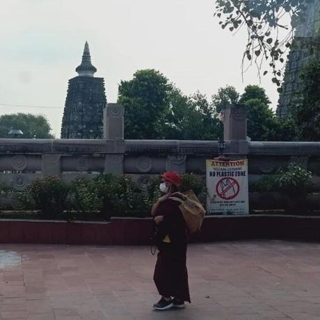 【4月14日(水)20時配信予定】Ryoshoさん&Sanjayさんが案内する 聖地ブダガヤ第二弾 仏教寺院と田舎暮らしを訪ねるオンラインツアー