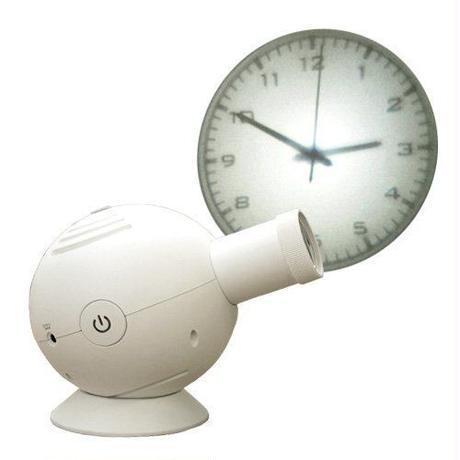 [DETAIL]Projection clock どこに映写するのも貴方のアイデアとセンス次第です