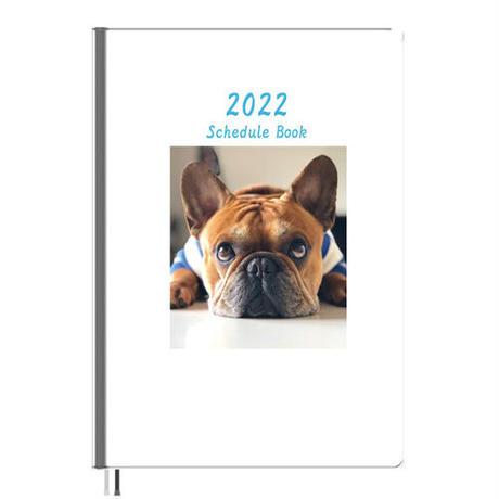 【予約販売】 フレンチブルドッグ torus トーラス 2022年 A5スケジュール帳 A52212